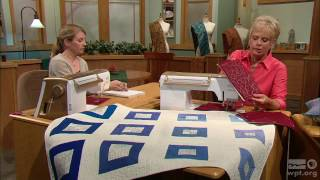 Sewing With Nancy - Free-Motion Quilting for Beginners, Part 2