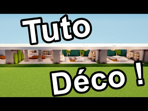 minecraft tuto comment faire un bureau moderne download youtube. Black Bedroom Furniture Sets. Home Design Ideas