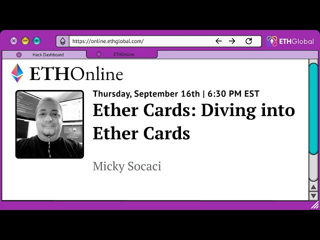 Ether Cards: Diving into Ether Cards