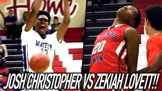 Josh Christopher UNSTOPPABLE vs Marcus LoVett