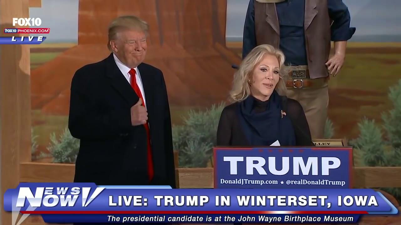 John Wayne's daughter, Aissa Wayne, endorses Donald Trump ...