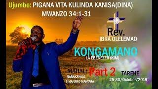 Gambar cover REV. IBRA OLELEMAO, Part 2, Pigana Vita kutetea Usafi wa Kanisa