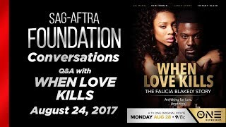 Conversations with WHEN LOVE KILLS