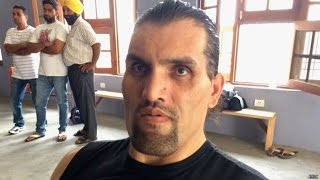 Why is Khali back in India?: BBC Hindi