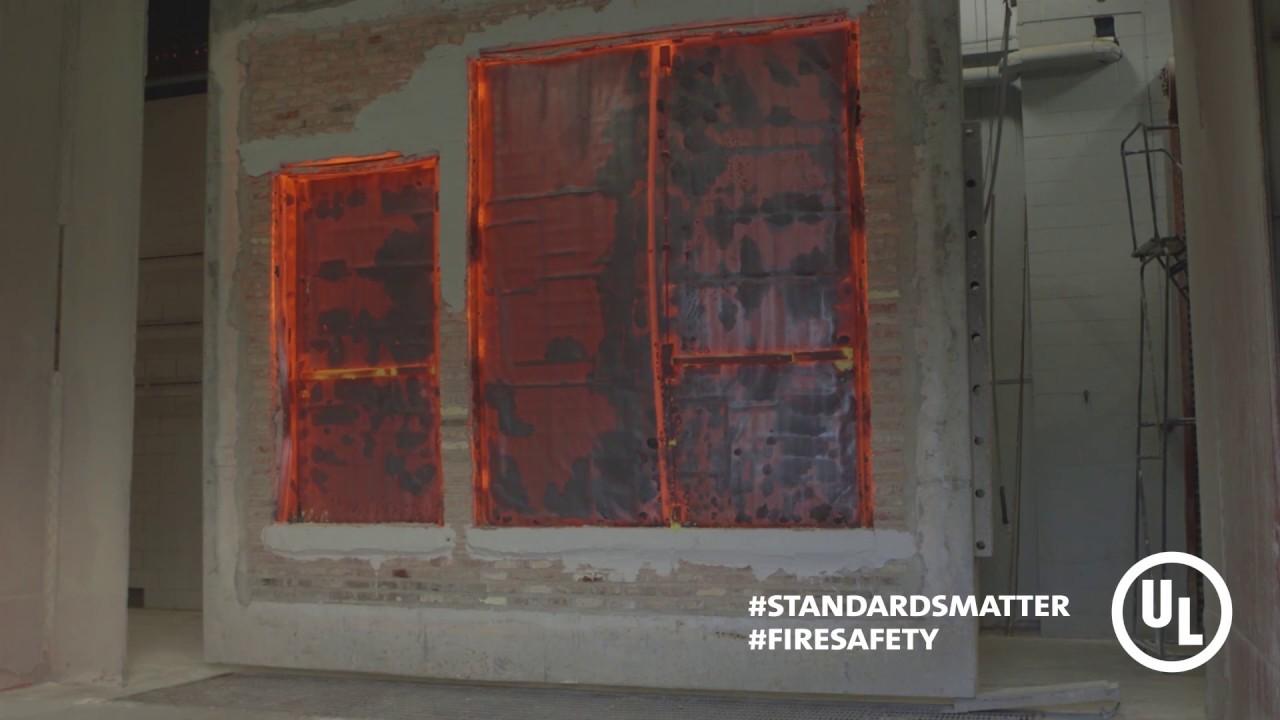 Fire Door Test : Ul fire door testing standards matter youtube