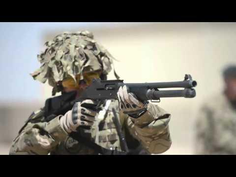 British Army Close Quarters Marksmanship Training