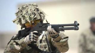 British Army Close Quarters Marksmanship Training