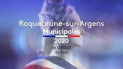 Second tour des Municipales 2020 à Roquebrune-sur-Argens (83) : le débat