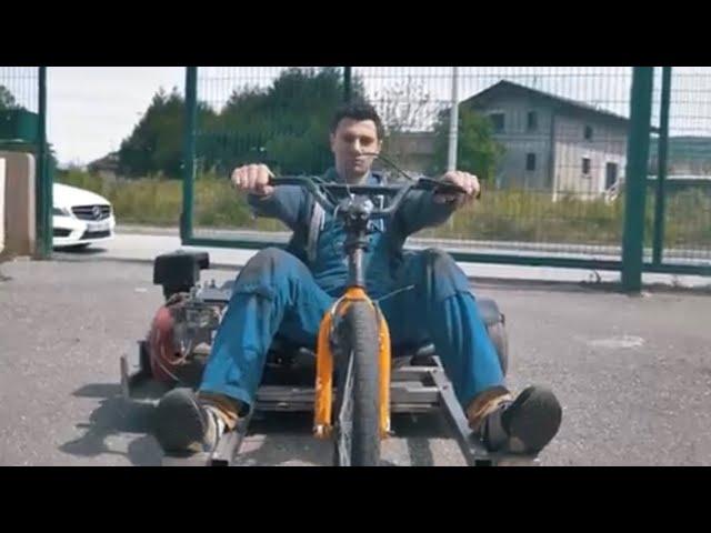 Drift Trike 2/3 | 1 Kart + 1 Bmx = 1 Drift Trike Motorisé