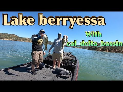 Lake Berryessa With Cal_delta_bassin