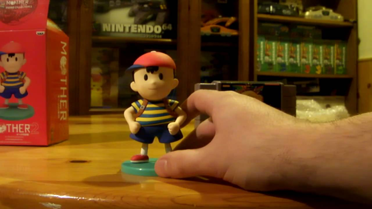 Ness Banpresto Earthbound / Mother 2 Large Figure Unboxing (Ep  34 Unboxing  #8 Oddities #7)
