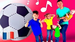 Les Couleurs Chanson Comptines pour enfants avec Papa et Cinq Enfants