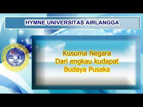 HYMNE UNIVERSITAS AIRLANGGA + LIRIK
