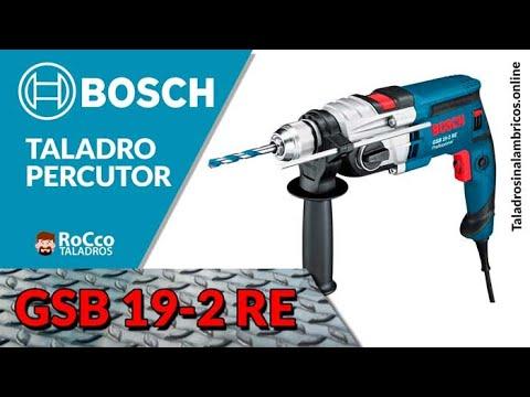 ⭐ Bosch Professional GSB 19-2 RE - Taladro percutor 850 W