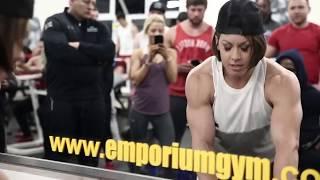 Live Workout Mike Rashid  Kai Greene  Dana Linn Bailey  William Bonac  Ulis