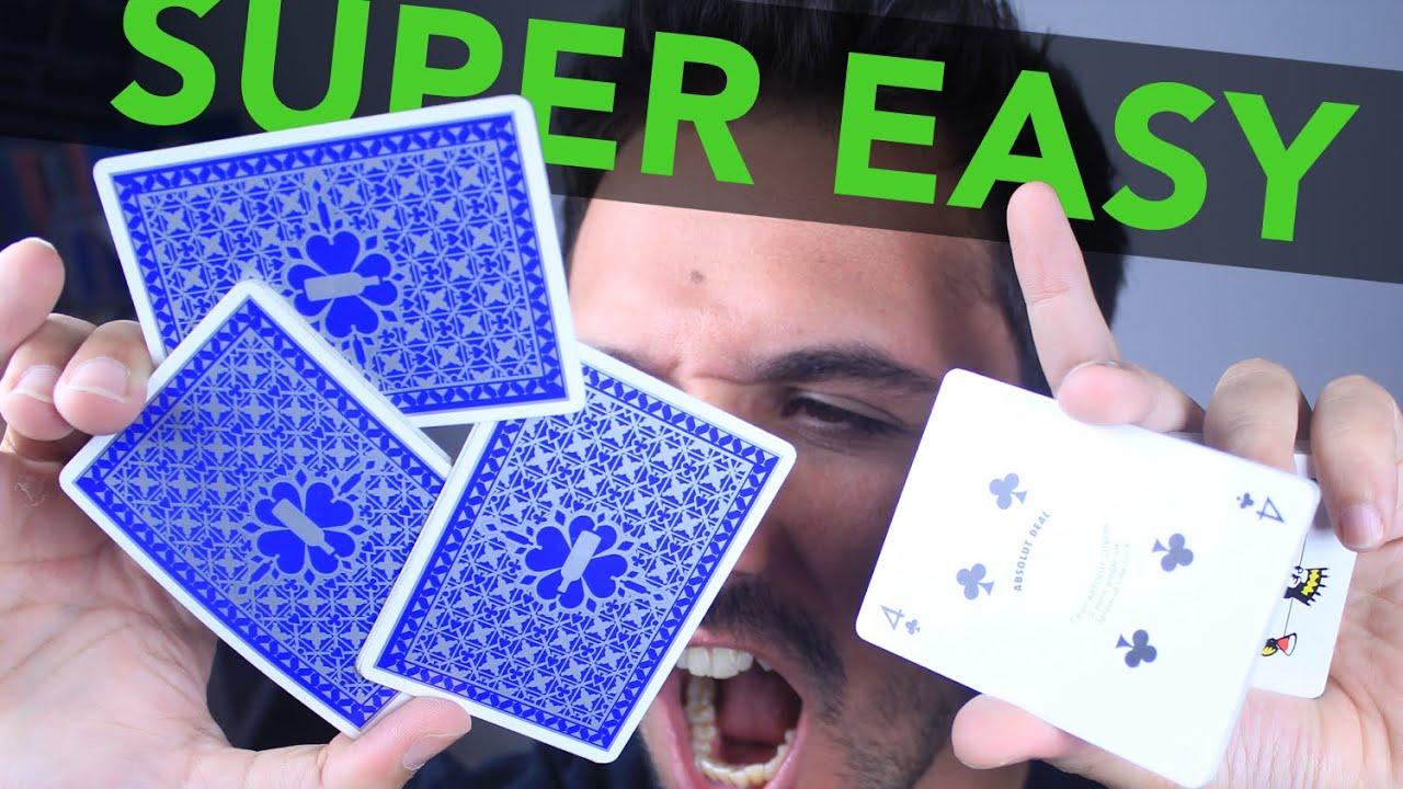 3 easy great card flourish tutorial for beginners youtube