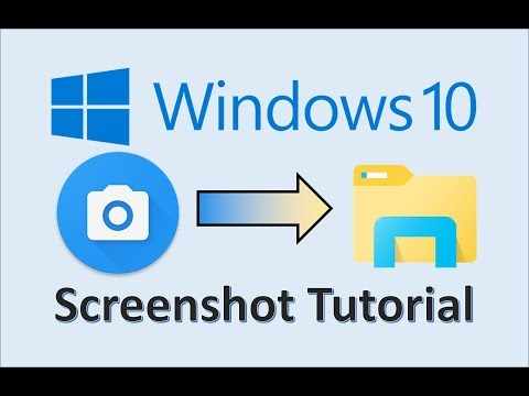 Windows 10 - Screenshots - How To Take A Screenshot On PC Computer Or In Laptop - Print Screen Shot