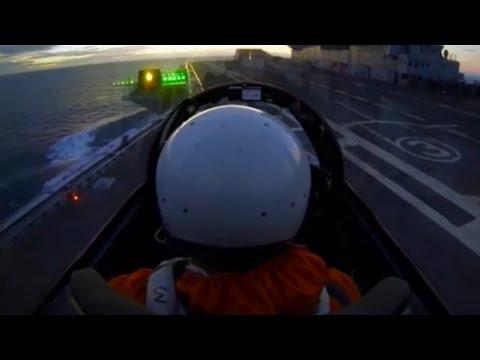 MiG-29K Trials 2015 Aboard INS Vikramaditya Arrests Ski Jumps