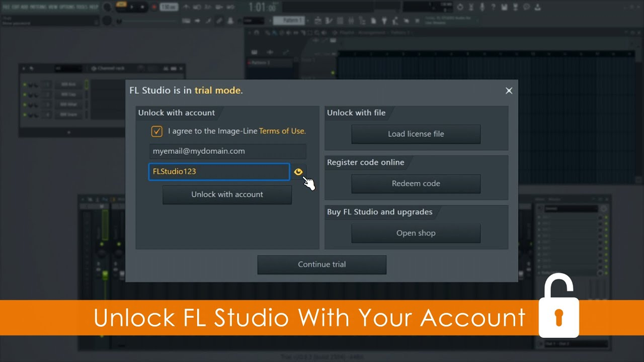 Registration How To Unlock Fl Studio From The Help About Panel