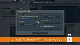 FL STUDIO | How To Unlock FL Studio With Your Account Login Credentials