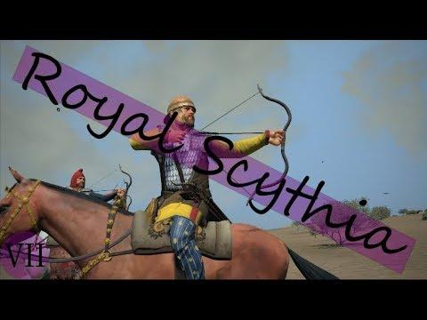 Total War Rome II Royal Scythia VII: Making it Rain - YouTube