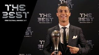 Cristiano Ronaldo interview - The Best FIFA Men's Player 2017 (PORTUGUESE)