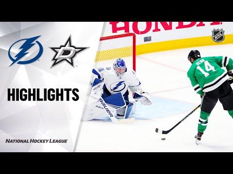 NHL Highlights   Lightning @ Stars 1/27/20