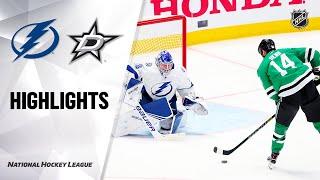NHL Highlights | Lightning @ Stars 1/27/20