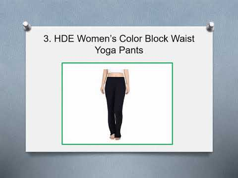 ⭐ Top 10 Best Fold Over Yoga Pants – [2020 Reviews] ⭐