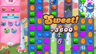 Candy Crush 3182 Hard Level 3 Stars!