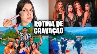 ROTINA DE GRAVAÇÃO DO FILME! *dei alguns spoilers*