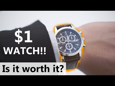 Is it Worth It? - $1 Dollar Watch