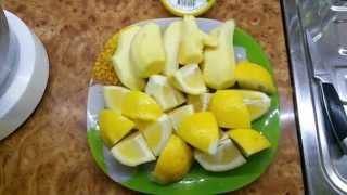 Витаминная смесь: имбирь, лимон и мёд