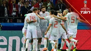 Move The Bus Spain Break Through Iran 39 S Defence To Earn Vital Win