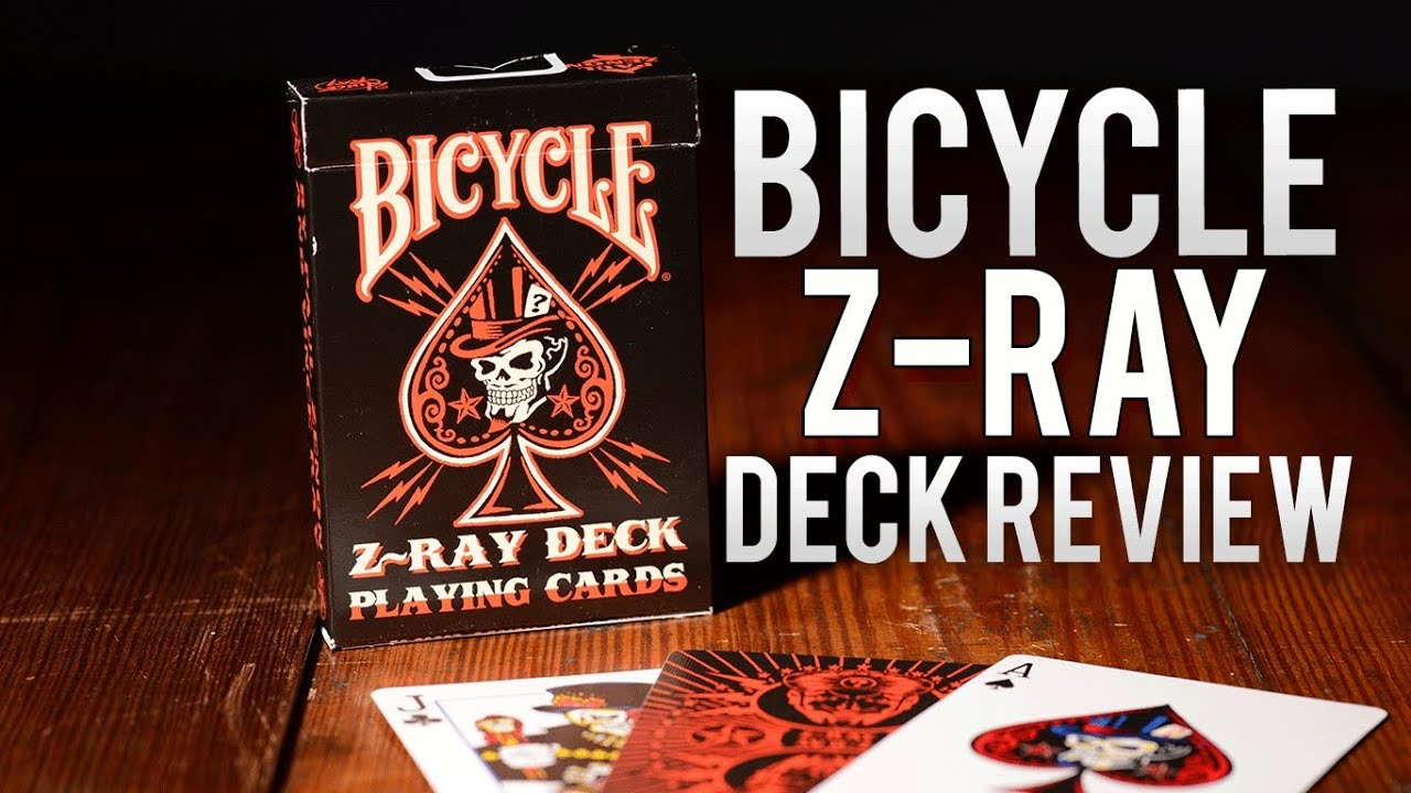 Deck Review Bicycle Karnival Z Ray Playing Cards Youtube