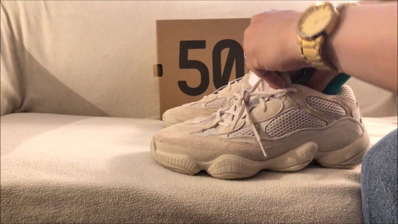 a64b1de13 Quick Unboxing Yeezy 500 Blush Yeezy Supply - YouTube