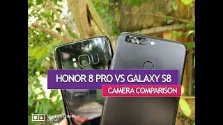 Honor 8 Pro vs Samsung Galaxy S8- Camera Sample Comparison