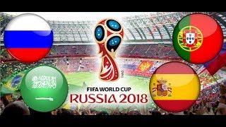 TURNIEJ PANINI FIFA WORLD CUP RUSSIA 2018 ROSJA- ARABIA SAUDYJSKA , PORTUGALIA - HISZPANIA