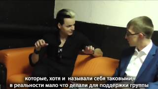 Interview with Tilo Wolff, Moscow, Volta, 23.10.2014