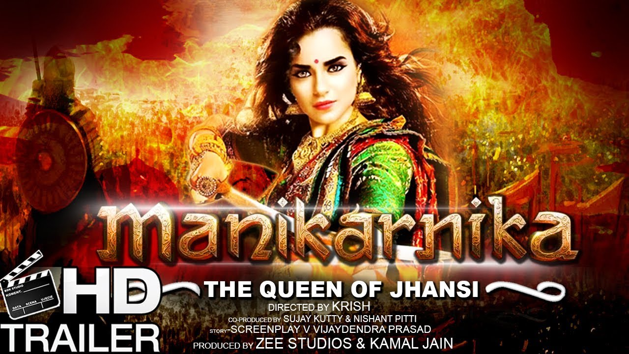Manikarnika Movie Official Trailer First Look 2018 Kangana Ranaut
