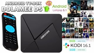 ANDROID TV BOX - DOLAMEE D5 : Приставка для ТВ - ПОЛНЫЙ ОБЗОР(ANDROID TV BOX - DOLAMEE D5 : http://www.tvboxnews.com/dolamee-d5-specification -------- ANDROID TV BOX - DOLAMEE D5 : Приставка для ТВ ..., 2016-09-16T15:13:22.000Z)