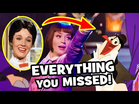 Everything YOU MISSED In Mary Poppins Returns
