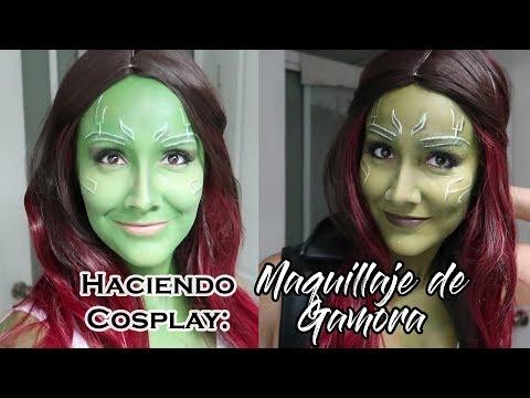 Haciendo Cosplay:  Maquillaje de Gamora