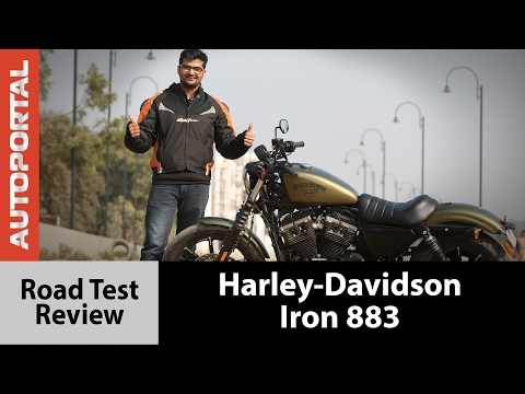 2017 Harley-Davidson Iron 883 Test Ride Review - Autoportal