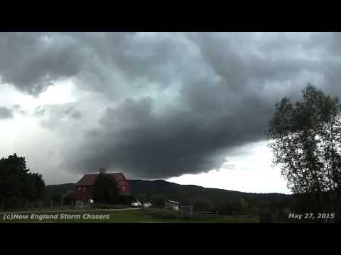 May 27, 2015 Severe Weather Storm Chase in NH