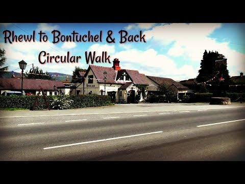 Rhewl to Bontuchel Circular Walk  🚶