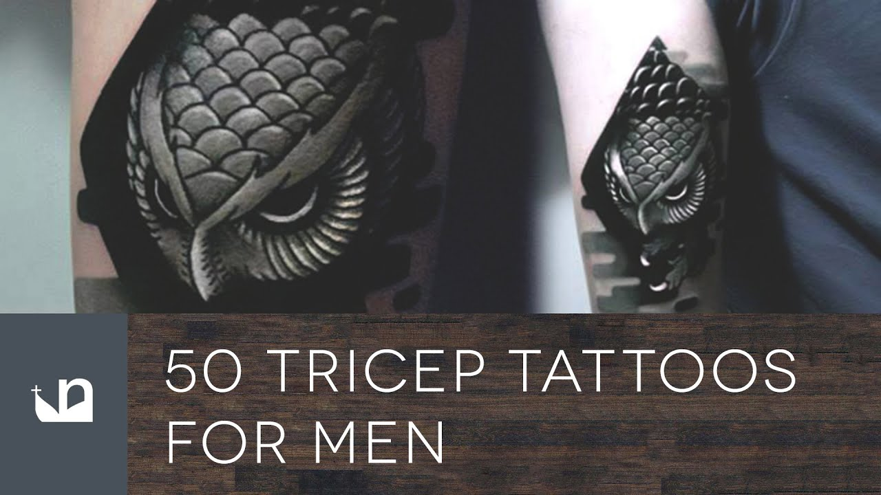 186426d41 50 Tricep Tattoos For Men - YouTube