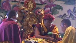 28th Nov - Anniversary of the First Gyalwang Drukpa (100,000 Ganachakra Offering - part1)