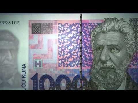 Kako provjeriti novčanicu od 1000 kuna?