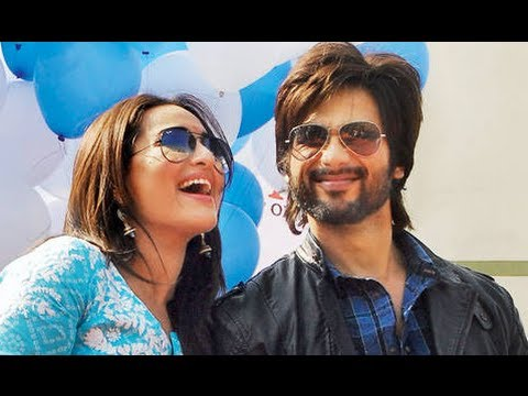 Shahid Kapoor & Sonakshi Sinha promoting 'R...Rajkumar' in Jaipur Travel Video